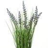 Decorative grass with lavender Z109