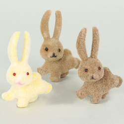 Rabbit x 3 pcs